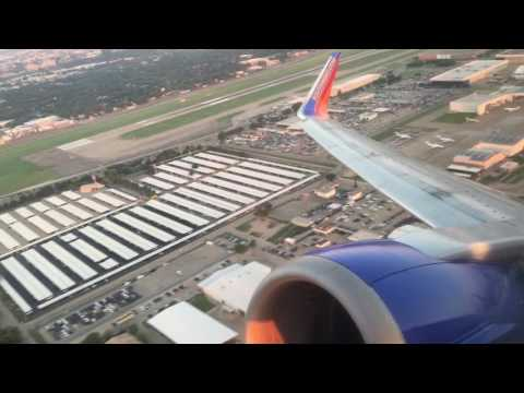 Southwest Airlines Boeing 737-3H4 Departure KDAL Love Field