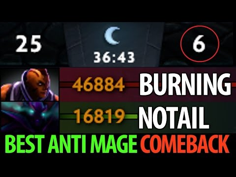 Burning [Anti Mage] 1040GPM► Comeback of The Best Anti-Mage- Dota2 Kiev Major