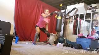 Amputee Jenny Pollreis Rush Rebelle workout!