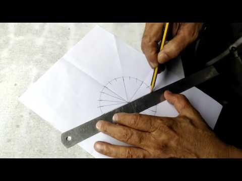 INDIAN FLAG Ashoka chakra making in 5 Minutes