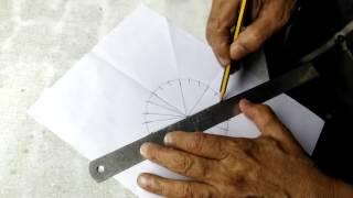 INDIAN FLAG Ashoka chakra making in 5 Minutes