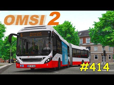 Let's Play OMSI 2 Teil 414 - Linie 6 U Borgweg - Auf dem Sande [Hamburg modern] Volvo 7900 LH
