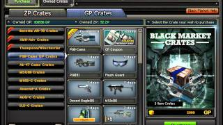 Crossfire Black Market Tricks!NEW Channel!Subscribe !!