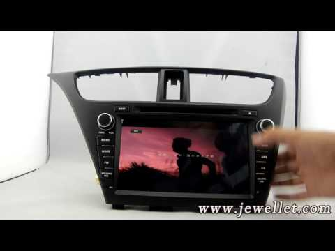 Android Honda Civic 2014-2015 DVD GPS Navigation with Bluetooth,3G/Wifi,DVR,1080P