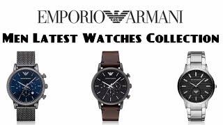 Emporio Armani Men Latest Watches Collection 2019