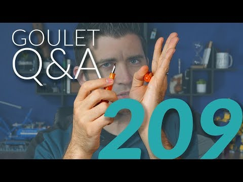 Goulet Q&A Episode 209: Large Grips, Best Collector Brand, and Goulet Pens Social Media Strategy