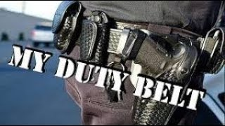 POLICE  Duty Belt TOUR!