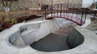 видео Все о том, как построить бассейн на даче своими руками
