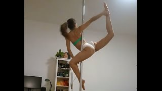 Pole Combo: Sit - Twisted Grip Shouldermount - Ballerina