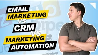 What is the difference between CRM, Email Marketing and Marketing Automation   Explained