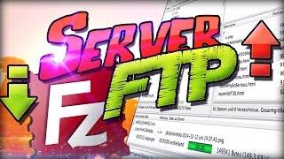 Server Dateien mit FTP Hochladen und Runterladen | FileZilla Tutorial | Nitrado & Andere Windows Mac