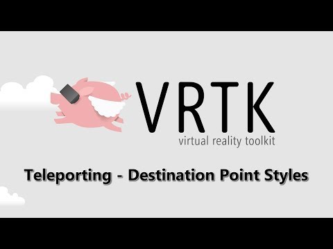 [Teleporting] 004 - Destination Point Styles