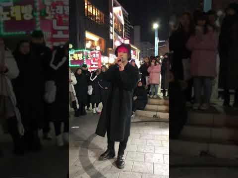 190105 홍대 버스킹 디오비 강봉근 직캠 : 봉근(Bong Geun) - 우산(Umbrella) (Feat. JIN Prod. 범고래)
