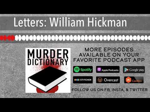 Letters: William Hickman