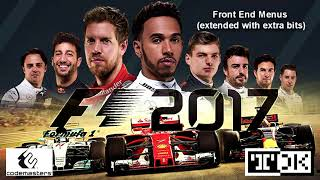 F1 2017 Soundtrack (OST) - Front End Menu tracks (extended with extra bits) -   Mark 'TDK' Knight