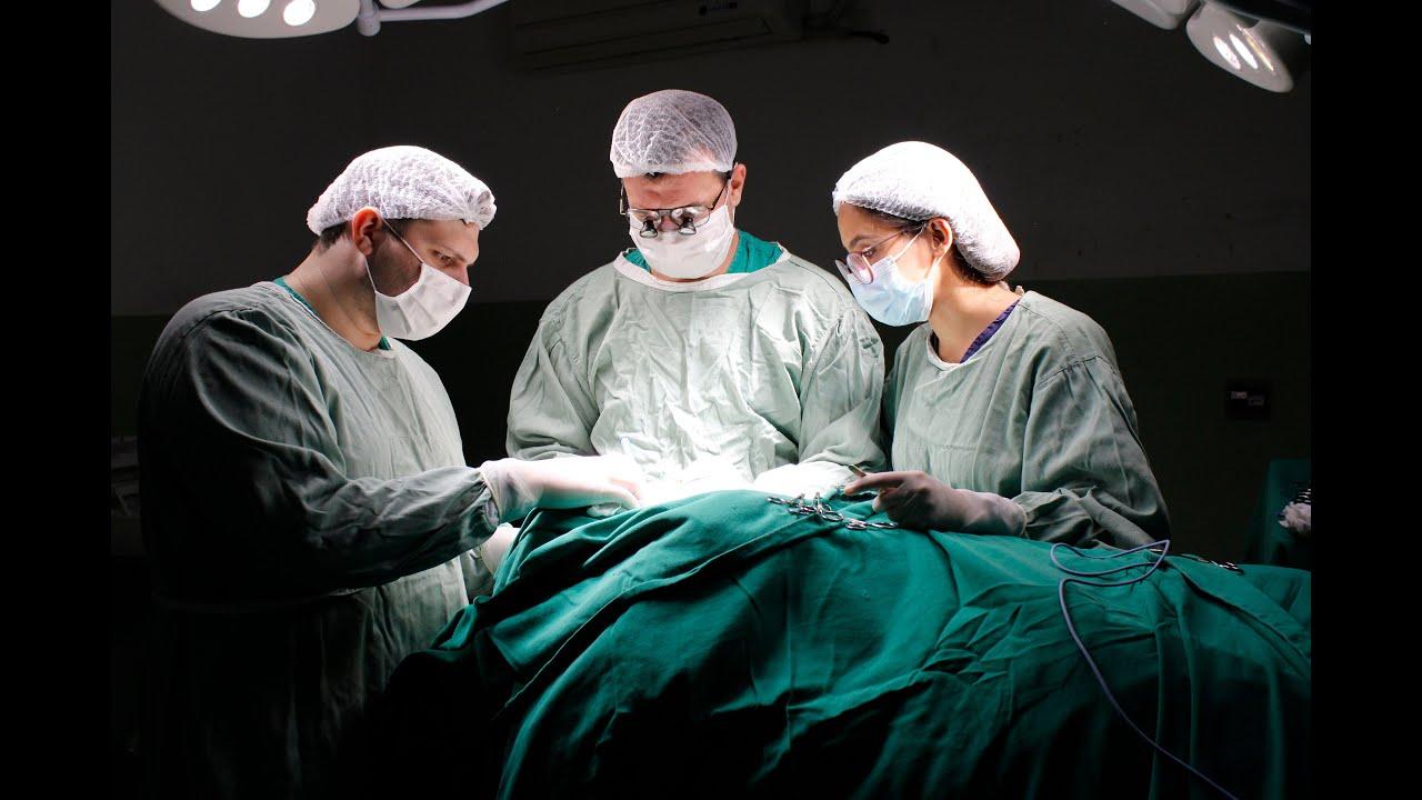Primeira cirurgia de cabeça e pescoço é realizada na Santa Casa de Formiga