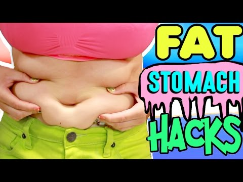 06a19f926ee 10 Fat Stomach Life Hacks! | How To Hide A Fat Stomach For Summer! | Cure  Tummy Fungus And Odor!