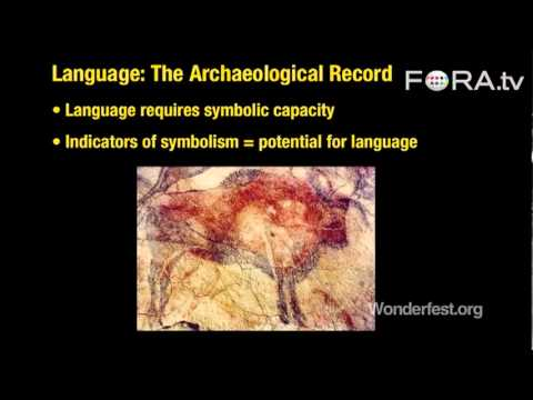 Origin of Language? Check the Archaeological Record