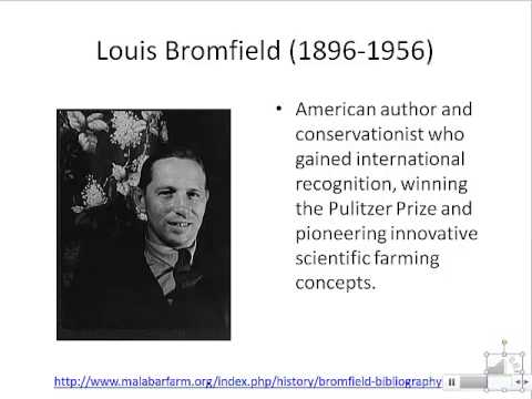 An Overview of the Philosophy and History of Organic Agricul