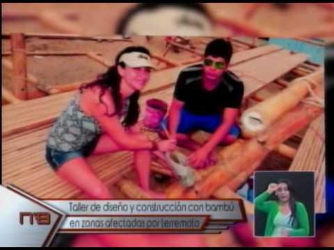 Taller de diseño y construcción con bambú en zonas afectadas por terremoto