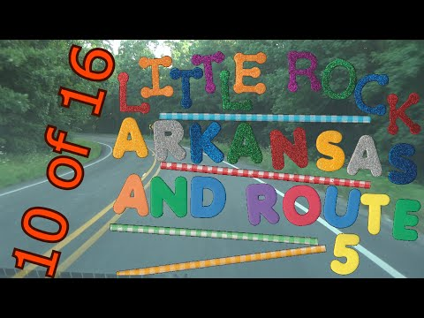 Little Rock & Route 5   10  of 16   Little Rock to Rural Route 5
