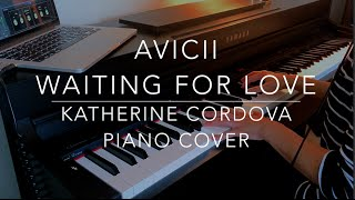 Avicii - Waiting For Love (HQ piano cover)