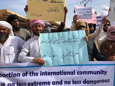 مواطنو قرى ريف دير الزور يرفضون التواجد الإيراني في منطقة شرق الفرات  - نشر قبل 57 دقيقة