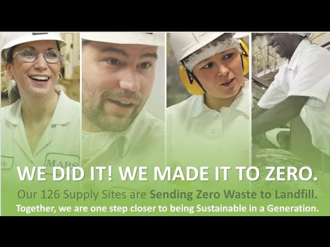 Sending Zero Waste to Landfills Isn't Easy: Mars Associates Give Waste a New Life