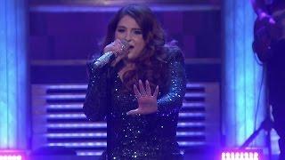 Meghan Trainor Takes HUGE Tumble Onstage During