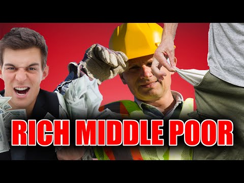 How To Get Rich: Differences Between The Rich, The Poor, and The Middle Class