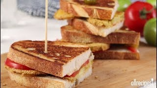 How to Make Fried Green Tomato Sandwiches | Lunch Recipes | Allrecipes.com
