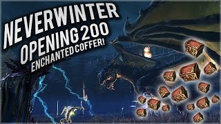 neverwinter opening 200 enchanted coffer