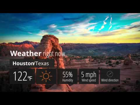 Weather Forecast Pack - After Effects template from Videohive