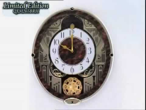 Seiko Limited Edition - Seiko Melodies in Motion Musical Charming Bell Wall Clock