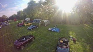 Tent errection timelapse at Cosgrove Park, Milton Keynes