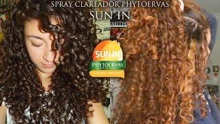 como eu clareei meu cabelo com sun in resenha e resultados giovanna oaken