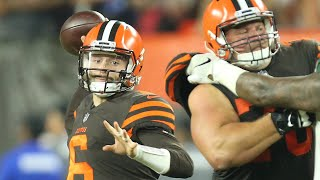 Baker Mayfield: 'I'm living my dream' as Browns starting QB