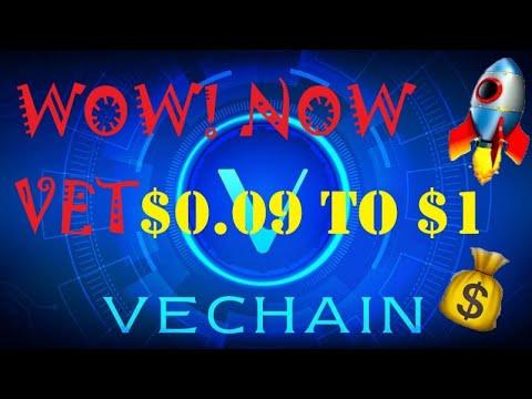 VeChain New   VeChain Price Prediction 2021  VeChain $1  VeChain Today   Cryptocurrency 2021