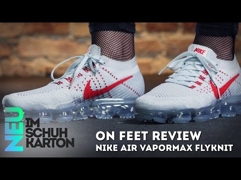 quality design c78e6 51537 Nike Air VaporMax Flyknit | Review - YouTube