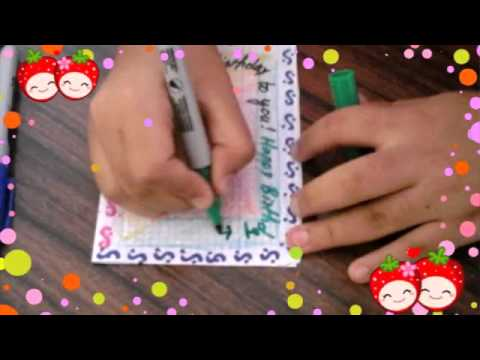 How to make a perfect birthday card youtube how to make a perfect birthday card bookmarktalkfo