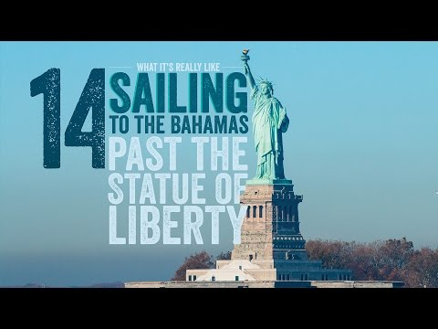Escape 14 What It's Really Like Sailing to the Bahamas Past the Statue of Liberty