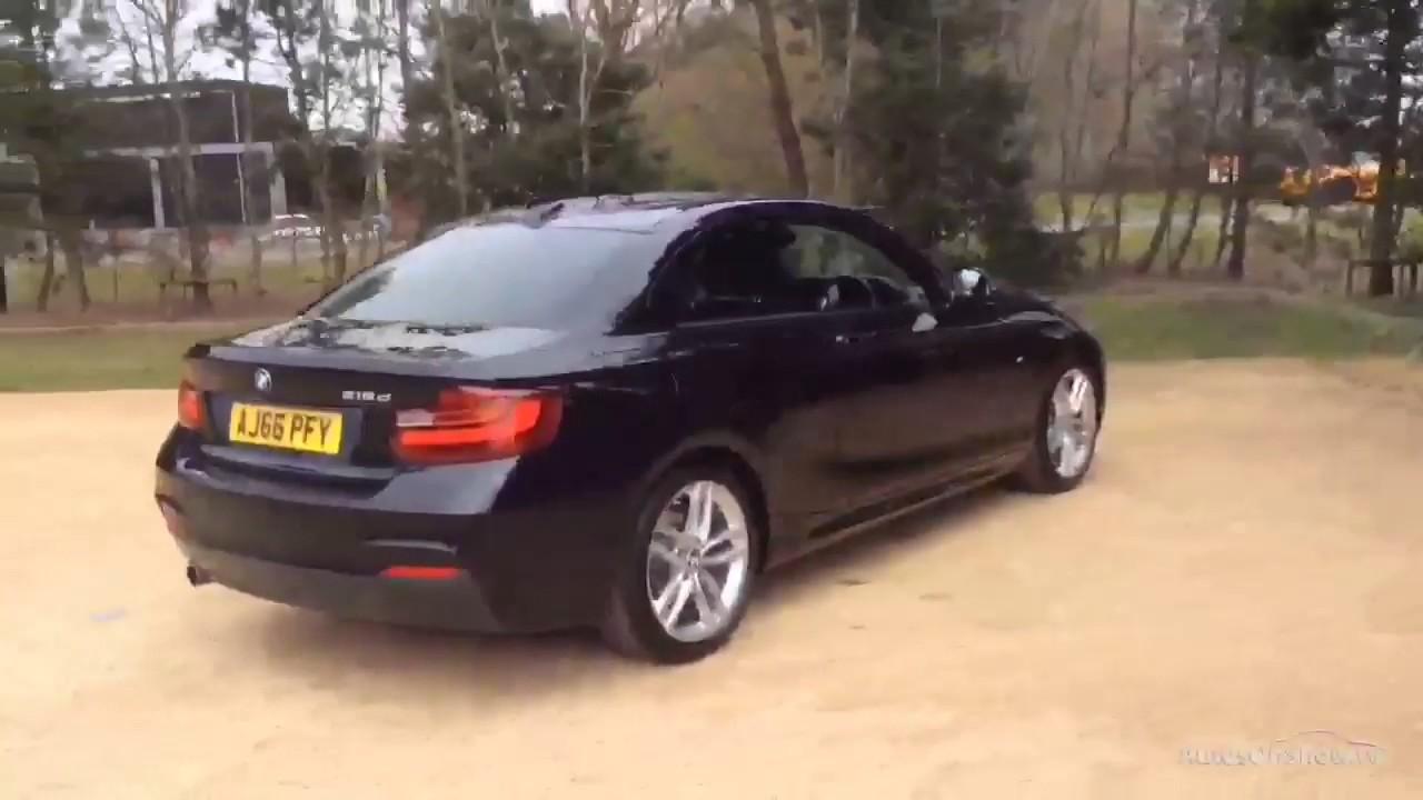 BMW 2 SERIES 218D M SPORT BLACK 2017