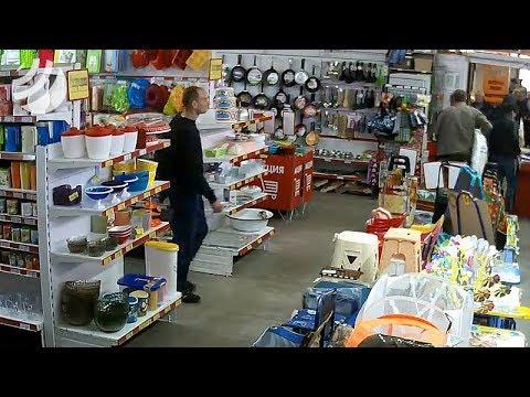 SMOTRIOMSK.RU: воровство в магазине 2 #воровство #кража #разное
