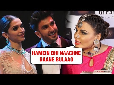Rakhi Sawant EPIC REACTION On Deepika Padukone Ranveer Singh Wedding