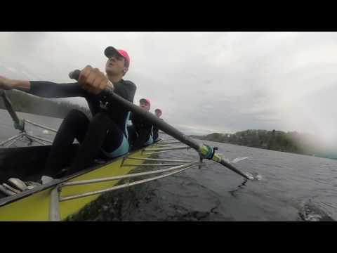 Maritime Rowing Club Freshman B Quad – Saratoga Invitational Regatta