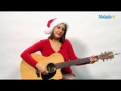 How To Play Santa Baby On Guitar Youtube