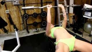 Nikki Seven Triceps Workout with a Naked 3rd Set