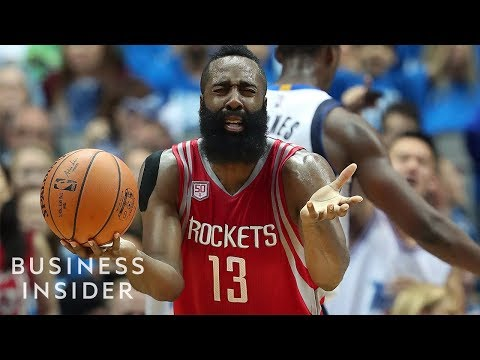 NBA Ref Explains Why The James Harden Step Back Isn't Traveling