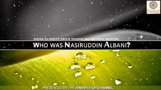 Who was Nasiruddin Albani Salafi?