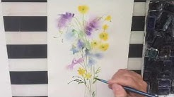 Minna maalaa Luonnonkukat